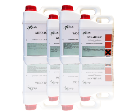 Productos químicos para baños e inodoros portatiles desodorizante